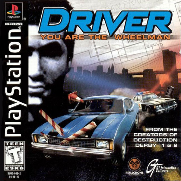 Driver the game - You Are The Wheelman review on the Playstation 1 ...